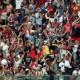 Padova-Samb, esultanza dopo lo 0-1