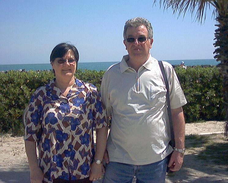 I genitori di Luca Cigarini, centrocampista della Samb