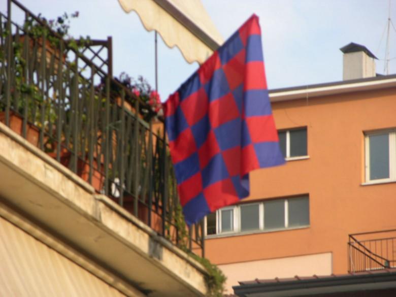 Bandiere al centro di San Benedetto