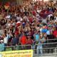 Samb-Napoli: anche la tribuna esulta
