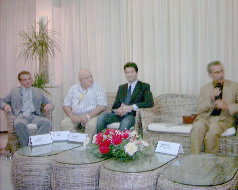 Un momento della Conferenza stampa di presentazione del progetto �Piceno: i misteri di un vissuto ed il fascino di una terra tutta da vivere�