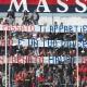 Samb-Pro Sesto. Lo striscione di bentornato all'ultras rossoblu Mauro