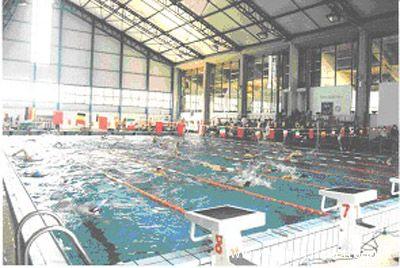 Un'immagine della piscina Primo Gregori