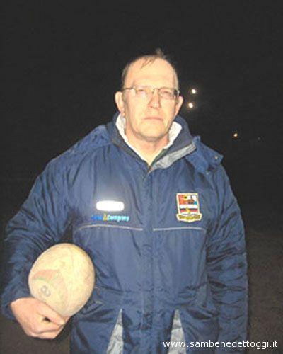 Il coach del Rugby Samb Sergio Pignotti