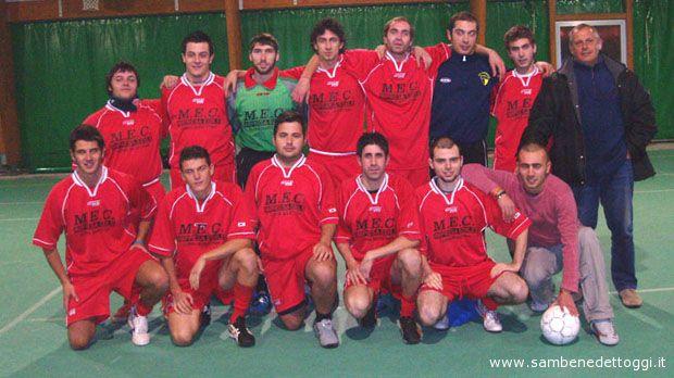 La formazione del Cupra Calcio a 5