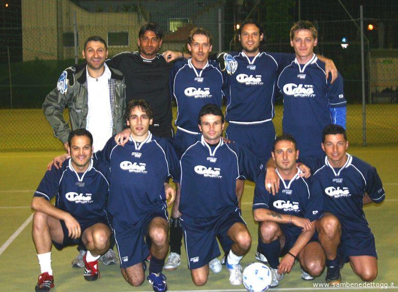 La formazione di calcio a 5 del Cobra Sport