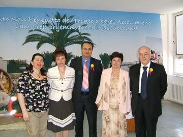 La delegazione della Confcommercio picena al Gastroden 2006