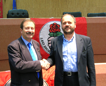 Leo Sestri con Giovanni Gaspari