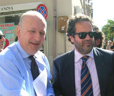 Sandro Bondi e Domenico Martinelli