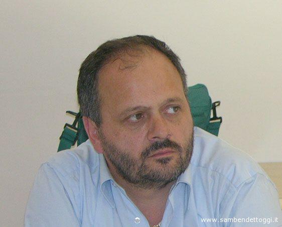 2006, Giovanni Gaspari nella redazione di Riviera Oggi