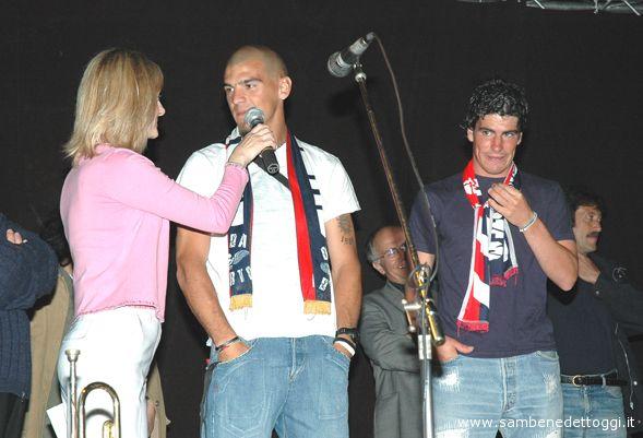 2° Torneo San Benedetto Martire. Macaluso e Yantorno insieme ad Angela Speca