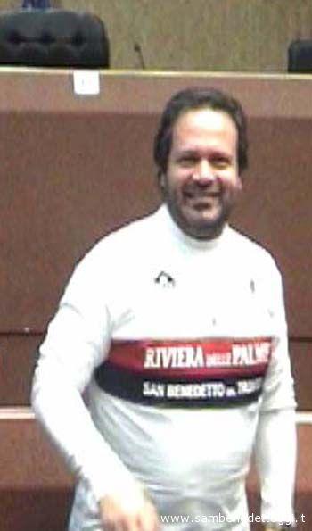 Domenico Martinelli... con la maglia della Samb