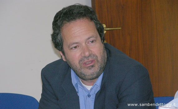 Domenico Martinelli nella redazione di Riviera Oggi nella campagna elettorale 2006