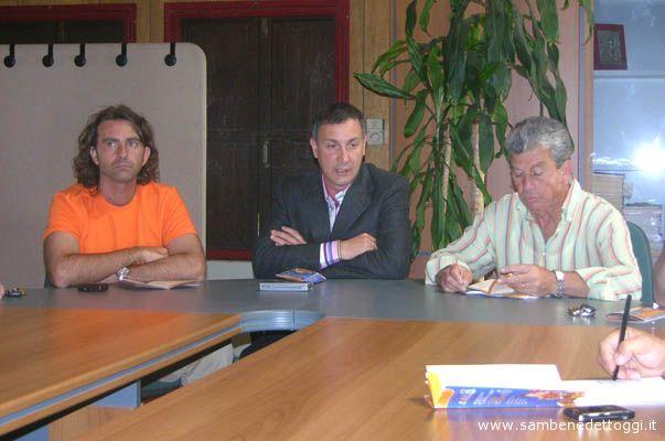Da sinistra: Raimondo Fiorelli, Marco Calavaresi e Giuseppe Ricci