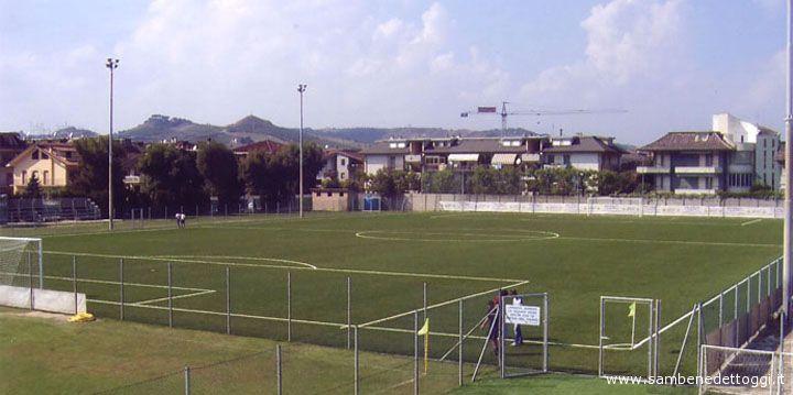 Un'immagine del campo Ciarrocchi