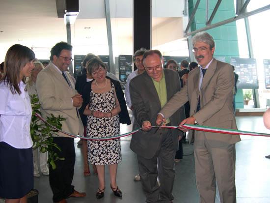 Il Presidente della Provincia Massimo Rossi inaugura la Biennale