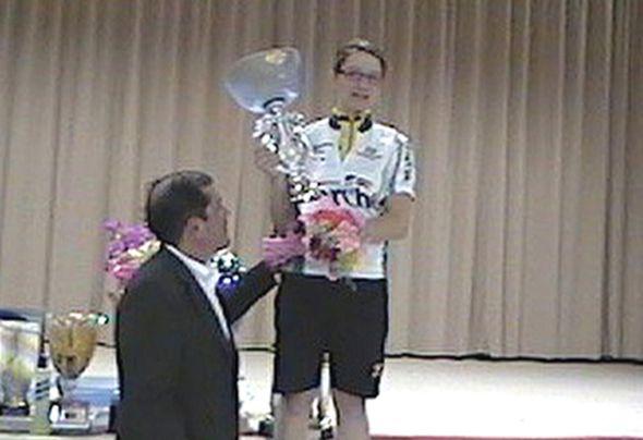 Trofeo ANSPI. La premiazione di Elisa Roscioli