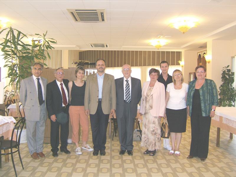 Un'immagine della cerimonia di benvenuto agli allievi delle scuole alberghiere ceche