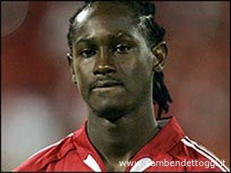 Spann con la maglia della nazionale di Trinidad e Tobago