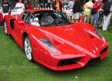 Un modello di Ferrari
