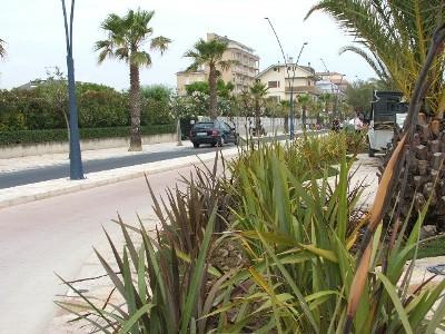 Un'immagine del nuovo lungomare di Porto d'Ascoli