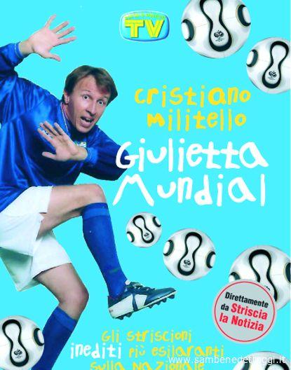 La copertina dell'ultimo libro di Cristino Militello