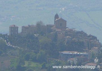 Il centro storico di Monteprandone