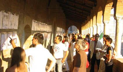 Visitatori durante SatirOffida 2005