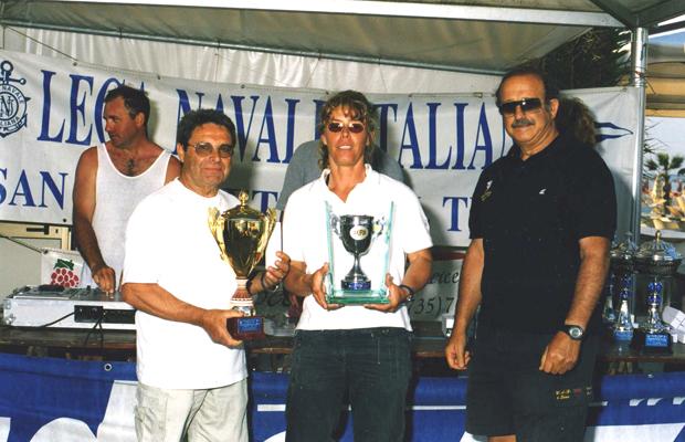 La vincitrice del Trofeo Jack La Bolina Maja Stavnicki