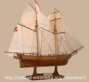 Un modello navale