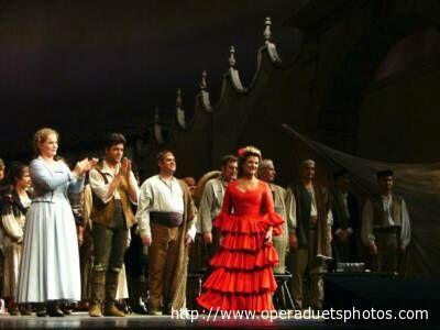 Una scena della Carmen
