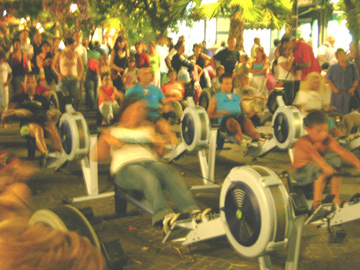 Spinning in centro