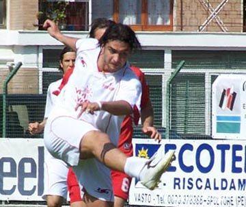 Daniele Morante in azione