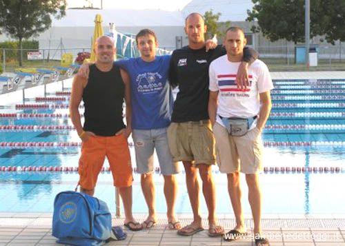 Nuoto Master, Italiani di Riccione: argento nella staffetta M100 per il quartetto Luconi, Marzocchi, Bastari, Pirani