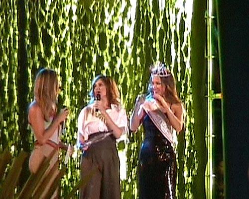 Debora Caprioglio e Miss Italia nel mondo