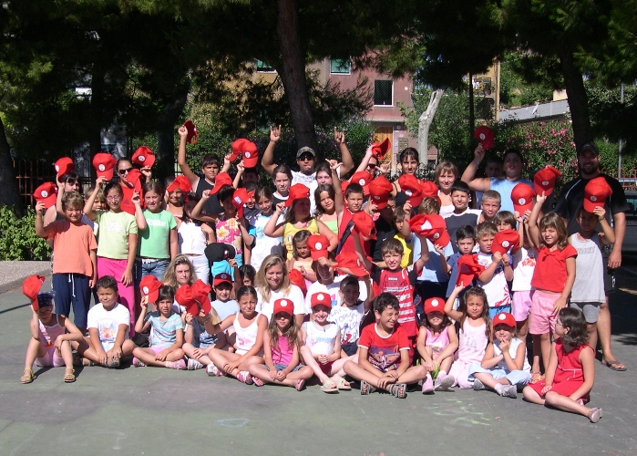 Il gruppo dell'english summer camp
