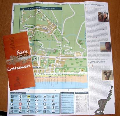 Cartina e libretto 2006
