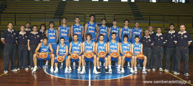 La Nazionale Under 20 di basket