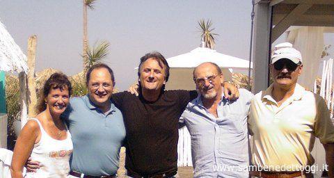 Da sinistra: KAtie e Gianni Vitali, Marco Assenti, Nazzaren Perotti, Ettore Parmegiani