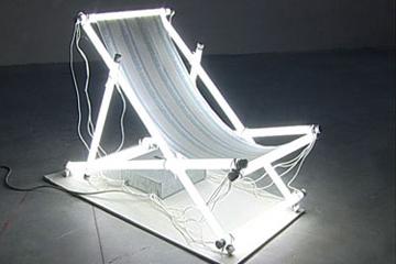 Una delle opere della Biennale Adriatica Arti Nuove 2004