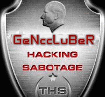 L'immagine che compare sul sito internet del Comune di Grottammare dopo l'attacco degli hacker
