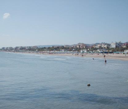 La spiaggia di San Benedetto