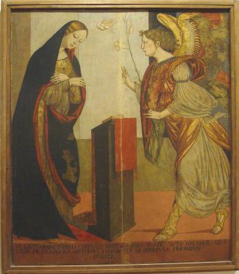 Un'oepra di Bernardino di Mariotto da Perugia