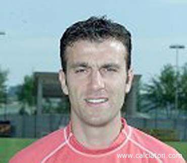 Gianfranco Parlato con indosso la maglia dell'Ancona