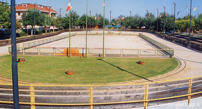 La pista di pattinaggio di Martinsicuro