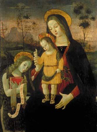Un'opera del Pinturicchio