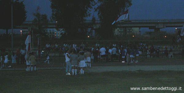Il pubblico delle Ragnoliadi 2006 al campo di atletica