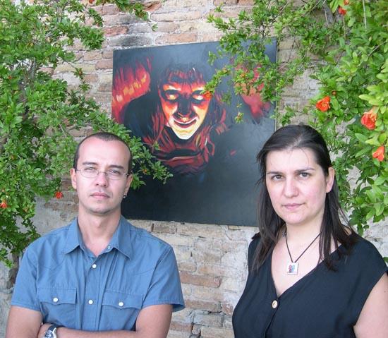 Roberto Zitolo e Cristina Petrelli