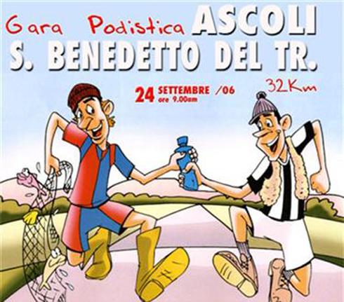 Il manifesto della Ascoli-San Benedetto