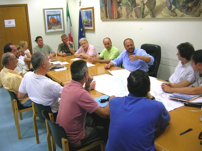 L\'incontro del 23 agosto tra il sindaco e i rappresentanti dell\'Erap